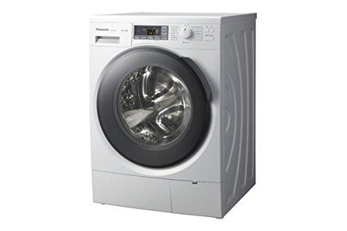 Panasonic NA-148VB3 Waschmaschine Frontlader 8 kg 1400 RPM A+++ Grau, Weiß – Waschmaschine...