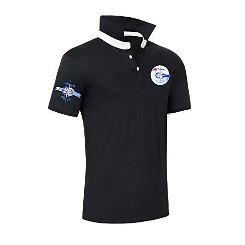 Nebulus Polo Ocean Blue - Noir - Large