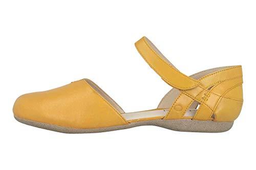 Josef Seibel Fiona 67 Sandalen in Übergrößen Gelb 87267 971 800 große Damenschuhe, Größe:44