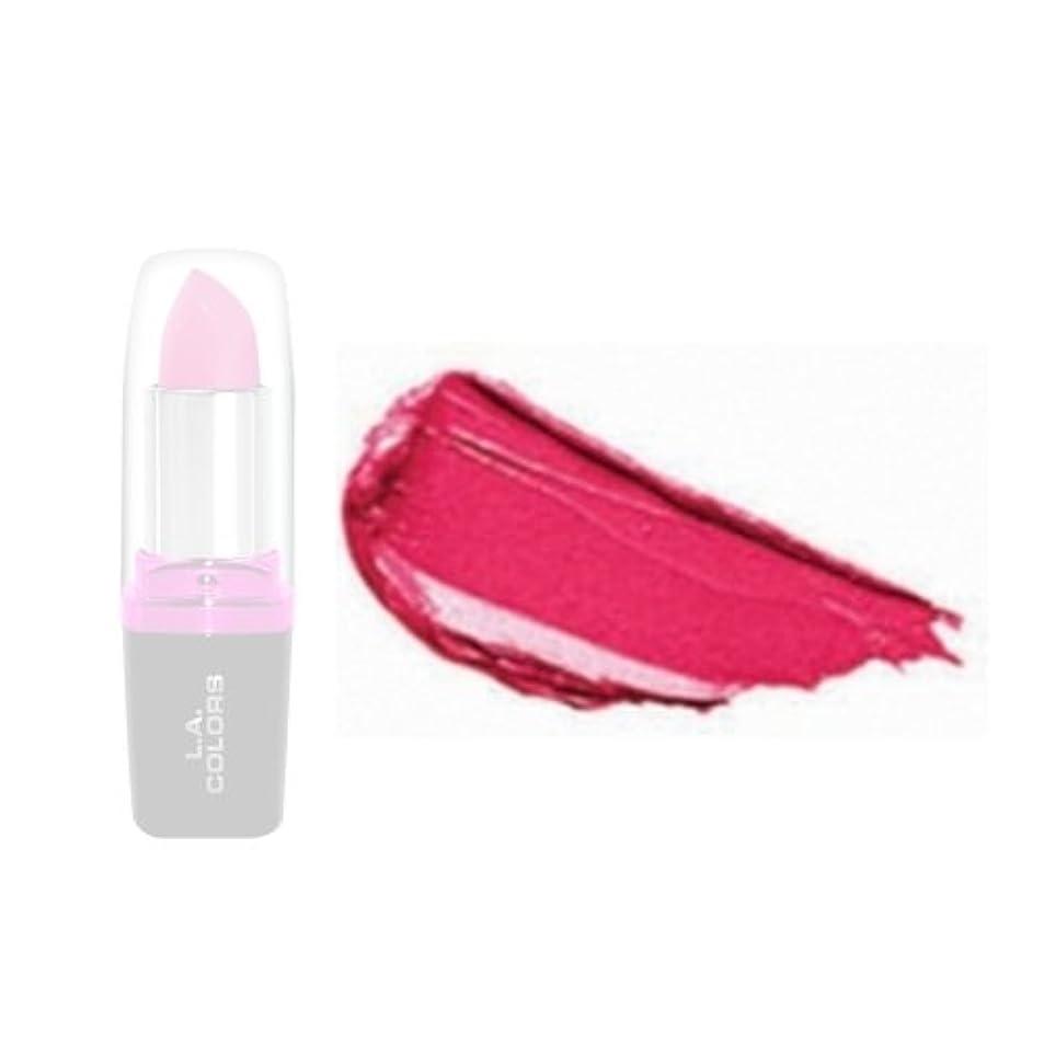 発動機大邸宅没頭するLA Colors Hydrating Lipstick - Dark Cherry (並行輸入品)