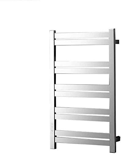 Inicio Equipos Calentador de toallas Calentador de toallas Calentador de toallas Perchero de acero inoxidable montado en la pared Calentador de toallas eléctrico Ahorro de energía Accesorios de bañ