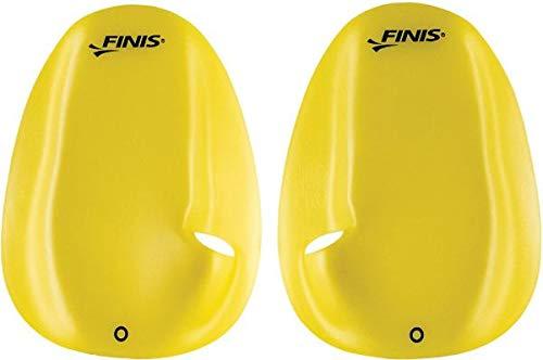 FINIS Agility - Paleta flotante para natación, Unisex Adulto, amarillo, Small