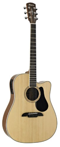 Alvarez Artist Series AD60CE Dreadnought Acoustic - Electric Guitar, Natural/Gloss Finish