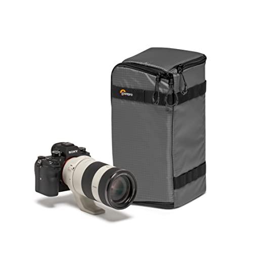 Lowepro GearUp PRO Camera Box Large II, Custodia Rigida per Fotocamera Mirrorless e Reflex, Custodia con Divisori Regolabili per Zaino Fotografico, Borsa Fotografica
