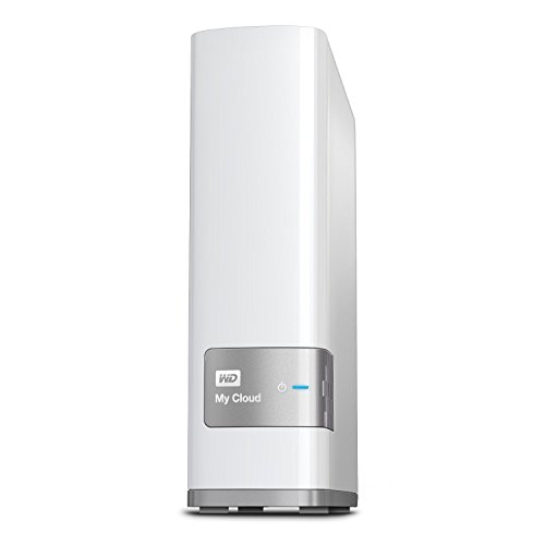 WD 4TB My Cloud Personal Network Attached Storage - NAS - WDBCTL0040HWT-NESN (Renewed)