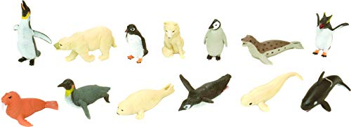 Wild Republic Polar Nature Tube, Arctic Animals, Kids Gifts, Educational Toys, Party Favors, 13-Piece