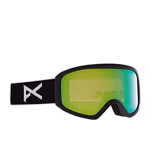 Anon Damen Insight Snowboard Brille, Black/Perceive Variable Green