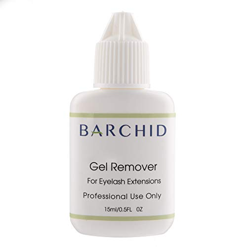 BARCHID Eyelash Extension Remover Lash Remover Eyelash Adhesive Remover Gel Remover eyelash extension Fast Acting Removing Eyelash Extension Glue Gel Remover Eyelash Extension