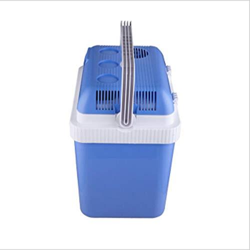 24 liter mini-koelkast, halve bestuurder, geschikt voor frisdranken met melk en melkvruchten, geschikt voor auto's, kantoren