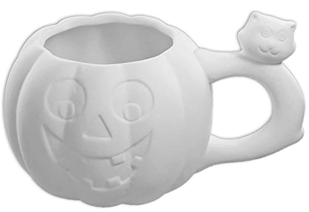 Jack-O-Lantern & Friend Mug - Paint Your Own Ceramic Keepsake zbtururdlds48