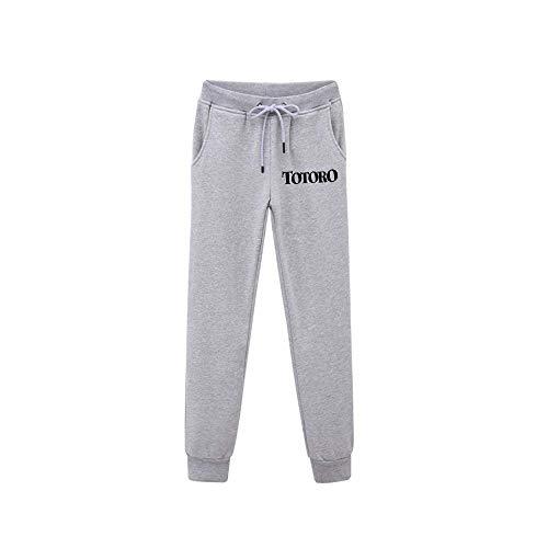 Mnijiein Pantalones De Jogging Hombres Mujeres Jogger Anime Totoro Impresos Cosplay Gym Joggers Pantalones De Chndal De Ajuste Pantalones Deportivos Casuales M