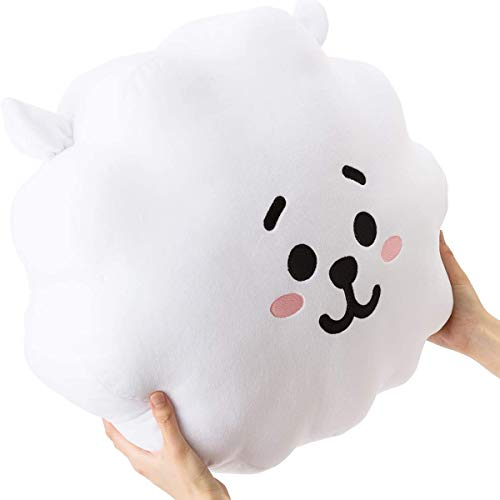 LUPU BTS 11.8 inches Plush Toy,Cartoon Pillow for Kids, Kpop Bangtan Boys Sofa, Bedroom, Living Room and Car Soft Cotton Plush Pillow for The Army (RJ)