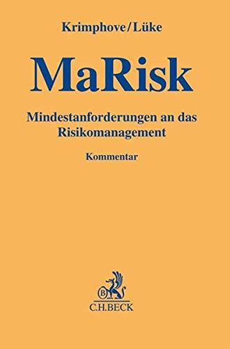 MaRisk - Mindestanforderungen an das Risikomanagement (Gelbe Erläuterungsbücher)