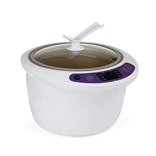 6L schwarzer Knoblauchfermenter mit großer Kapazität Home DIY Intelligente automatische Fermentationsmaschine Intelligente Steuerung Natto Wine Yogurt Maker (Farbe: B)