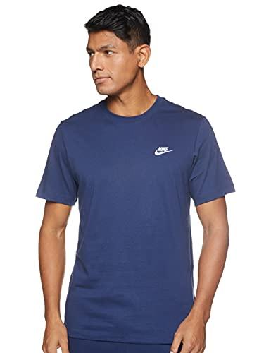 NIKE Camiseta M NSW Club tee AR4997 410 Marino