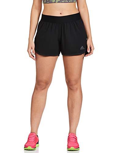 Adidas Women's Synthetic Sports Shorts (FM4719_Black_XL)