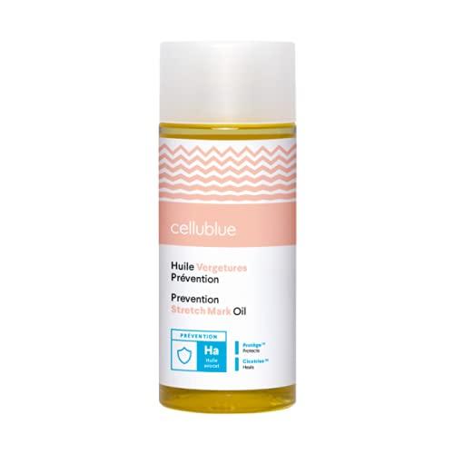 Cellublue - Olio Smagliature | Olio Cura 100% Naturale Compatibile Donna Incinta e In Allattamento - Efficace su Tutti i Tipi di Smagliature – 150 ml