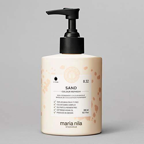 Maria Nila Colour Refresh - Sand 300ml | Eine revolutionäre Farbmaske für blondes und hellbraunes Haar