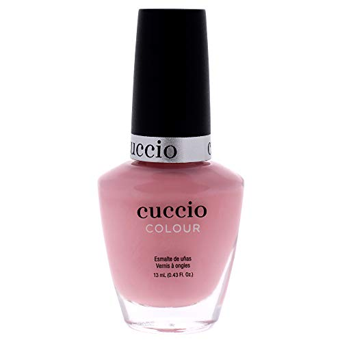 Cuccio Colour Nail Polish - Texas Rose - Nail Lacquer for Manicures & Pedicures, Full Coverage - Quick Drying, Long Lasting, High Shine - Cruelty, Gluten, Formaldehyde & 10 Free - 0.43 oz, Red, 6007
