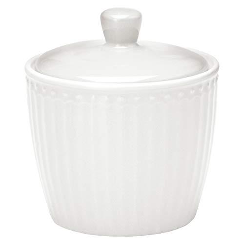GreenGate Cukierniczka Alice biała cukiernica Everyday naczynia biała puszka 9x10 cm