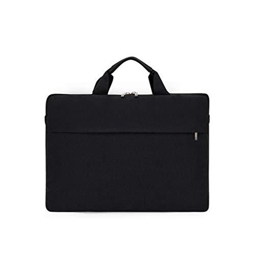 VHVCX Junge Mode Rucksack Art Und Weise Einfache Aktentasche Wasserdicht Oxford Tuch Hand Trägt Computer Business-Tasche, Handtasche Der Männer Schwarze Trompete