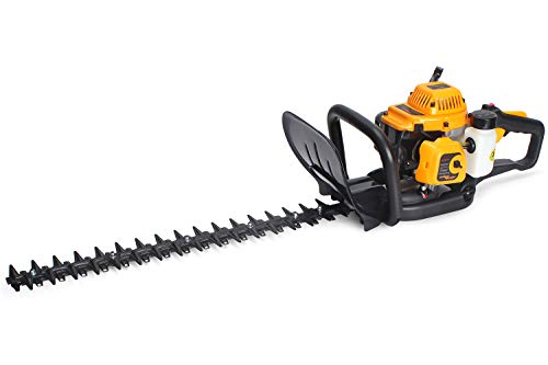 %40 OFF! SALEM MASTER 22.5cc 2 Cycle Gas Powered Hedge Trimmer 22-Inch Max. Cutting Dual Sided Hedge...