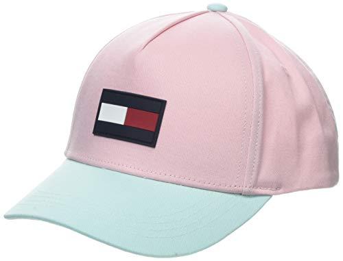 Tommy Hilfiger Jungen Big Flag Cap Kappe, Rosa (Almond Blossom Mix 903), (Herstellergröße: XL)