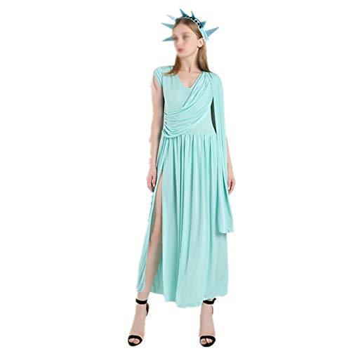 KIDsportxie Disfraz de mujer de la diosa griega, disfraz de