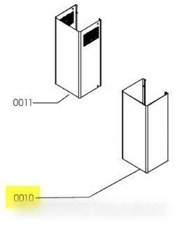 IKEA–Schaft, Edelstahl, Unterpartie –481253048957