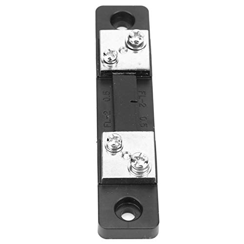 Resistencia de derivación, resistencia de derivación AMP portátil 50A / 100A para amperímetro digital para componentes electrónicos(50A)
