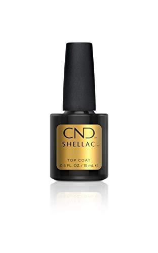 CND Shellac Vernis à Ongles Gel Top Coat 15ml 15 ml