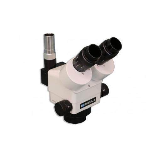 Meiji Techno EMZ-13TR Trinocular Microscope, with 10x Eyepieces and PLS