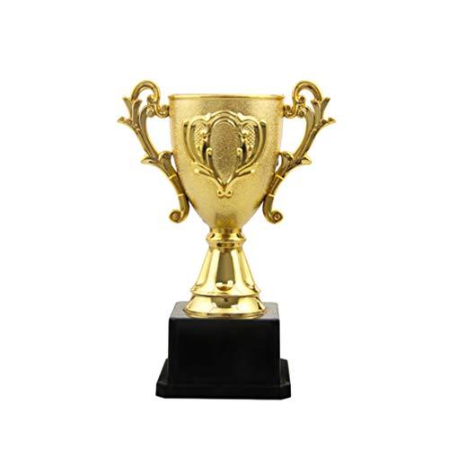 VOSAREA Coppa Trofeo Doro Coppe Trofei Premio in Plastica Primo Posto Vincitore Trofei Premio Coppa per Tornei Sportivi Feste per Bambini