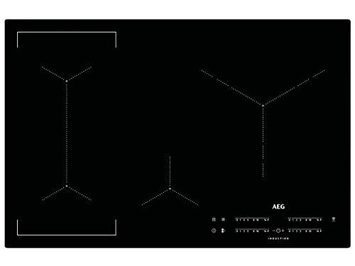 AEG IKE84445IB Induktionskochfeld autark Hob²Hood-Funktion Bridge-Funktion XL-Paella-Zone 80cm