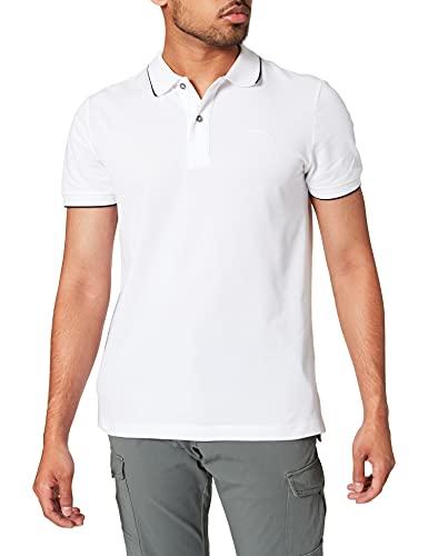 Geox Herren M Sustainable M-Piquet M1410BT2649 Polo Shirt, Optical White, Medium