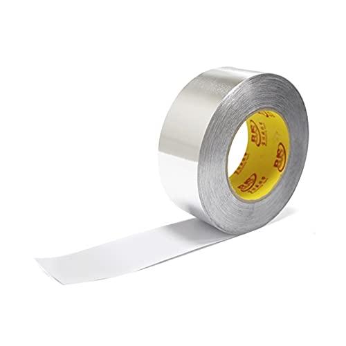 1 Rollo de Papel de Aluminio de 20 Millones de Caucho butílico de la Cinta Auto-Adhesivo de Alta Temperatura de la Resistencia Impermeable for la reparación del Techo de tuberías tapar Fugas Office