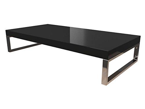 KERABAD Waschtischplatte Waschtischkonsole für Aufsatzwaschbecken und Waschschalen Holzplatte Badmöbel Tischplatte 80x45x5cm Schwarz Hochglanz kb-wt50120schwarzg-12