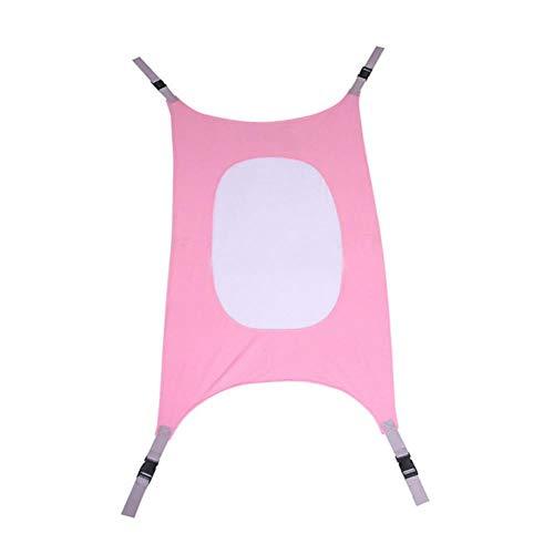 Baby Baby Hangmat Thuis Buiten Afneembaar Draagbaar Comfortabel Bedpakket Camping Baby Hangend Slaapbed, roze