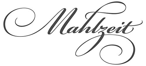 dekodino® Wandtattoo Spruch Küche Mahlzeit Wanddeko