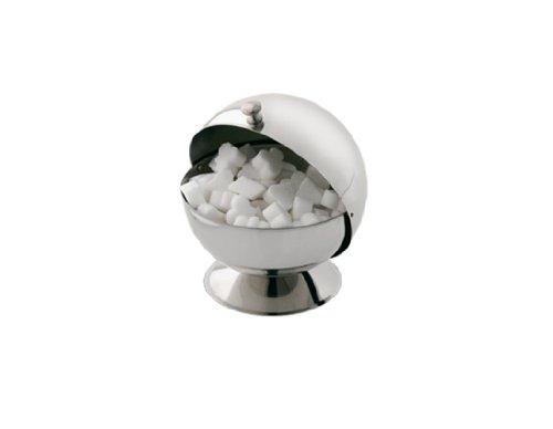 Louis Tellier N3713 - Contenitore per zollette di Zucchero, Forma a Palla, in Acciaio Inox