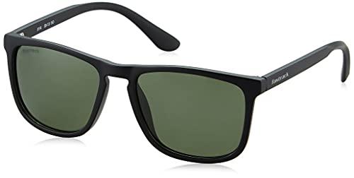 Fastrack Polarized Square Men's Sunglasses - (P407GR3P|58|Green Color Lens)