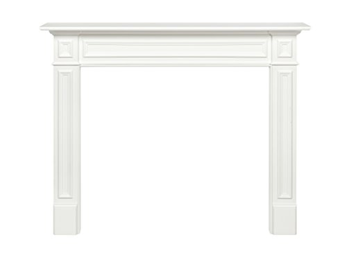 Pearl Mantels Mike Fireplace Surround MDF, 48-Inch, White