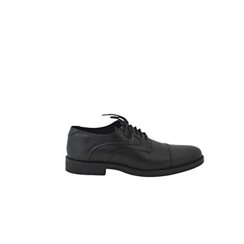 Zapato DE Vestir Oxford Costuras Negro
