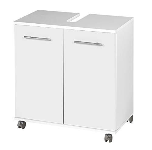 Schildmeyer Waschbeckenunterschrank 116635 Isola, 60x32.5x63.5 cm, weiß