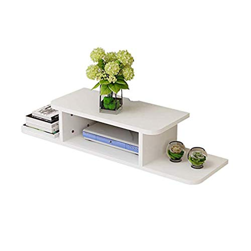 XGYUII WiFi Router Shelf Drijvende TV Stand Shelf Console Muur Mount Media Plank WiFi Kabinet Set-top Box plank Multimedia Kabel Dozen Verwijdert DVD Spelers