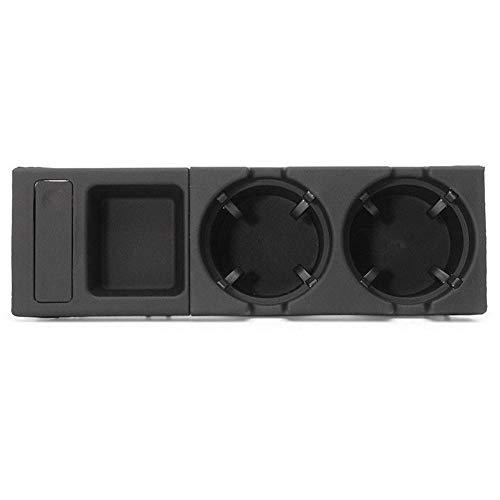 Auto Aufbewahrungsbox Klein Getränke Spalt Wechselbox Getränkehalter Für BMW 3er E46 99-06 (Münzbox + Getränkehalter Im Bundle)