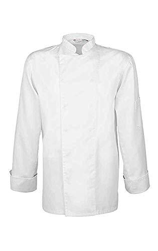 GREIFF 5580 Herren Kochjacke Cuisine Basic - Weiß - Size: 5XL
