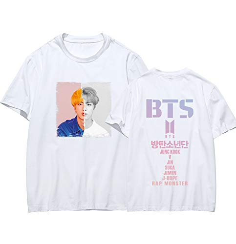 CHAIRAY BTS 2018 Love Yourself World Tour T-Shirt Jimin Jungkook V Tee Top