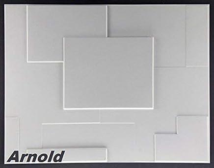 10 M², Panneau 3D Panneaux Muraux 3D Murales Mur Plafond, 62x80cm Arnold