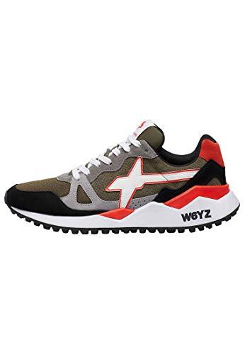sneakers uomo wizz w6yz Wolf-M.-Sneaker in Suede